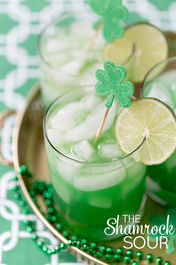 Cute St. Patrick's Day Drink!