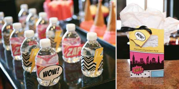 Cute Superhero Party Ideas