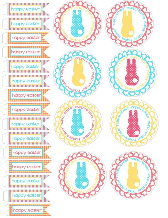 Fun and Colorful Easter Free Printables