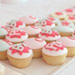 Girls Super hero cupcakes