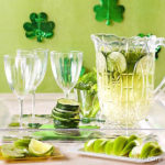 Green Sangria For St. Patrick's Day