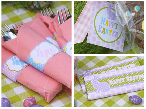 Lovely Easter Free Printable Set