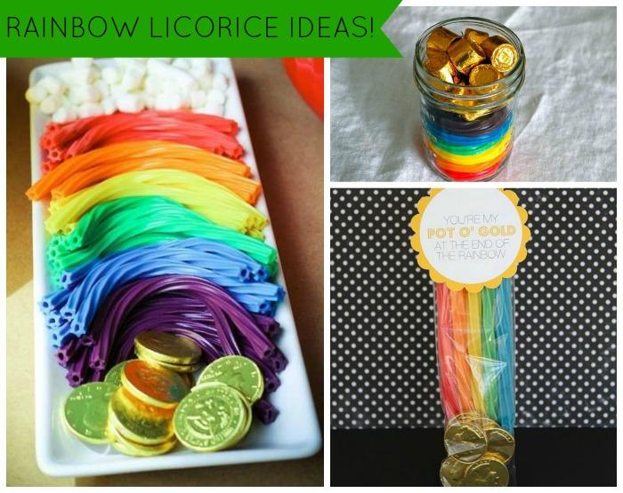 Rainbow Licorice Ideas - B. Lovely Events