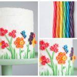 Rainbow Licorice cake!