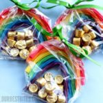 Rainbow licorice gifts for St. Patrick's Day