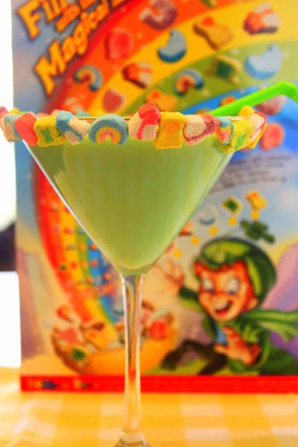 St. Patrick's Day Martini