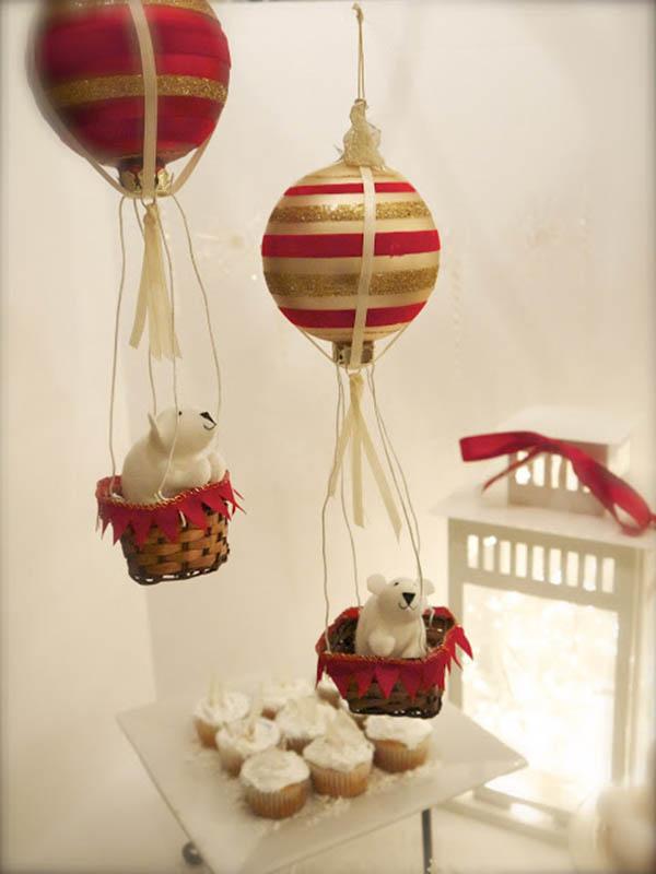 Adorable Polar beart party decorations!