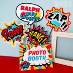 Baby Shower photobooth signs