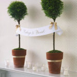 Beautiful Topiary centepiece and decor