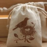 Bird Nest bag favors for Nest Baby Shower