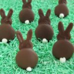 Cute Easter bunny tail treats!