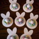 Cute bunny butt favors for Easter!