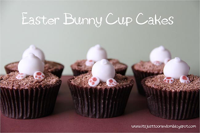 Easter Bunny Tail cupcakes!