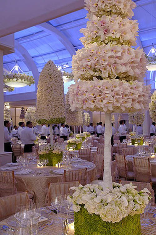 Floral Topiary Centerpiece