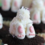 Love these bunny tail cupcakes!