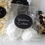Mexican wedding cookies welcome bag treat