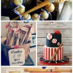 Mini Baseball Bat Ideas For Baseball Parties! - B. Lovely Events
