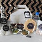 Modern and chic wedding welcome bag!