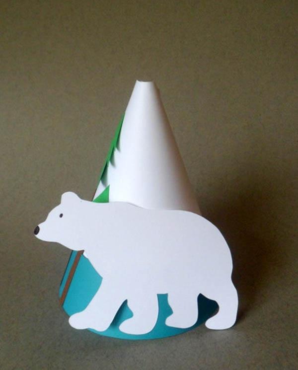 Polar Bear Party Hats!