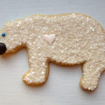 Polar bear Cookies!! Love these