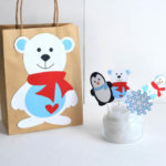 Polar bear Party Favor gift bags!