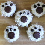Polar bear party cupcakes!