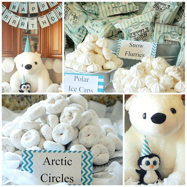 Super Adorable Polar Bear Party Ideas!