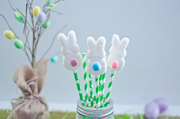 Super Cute Easter Bunny tail pops!