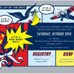 Super Hero Super Baby Invitation!