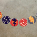 Super hero baby shower decorations