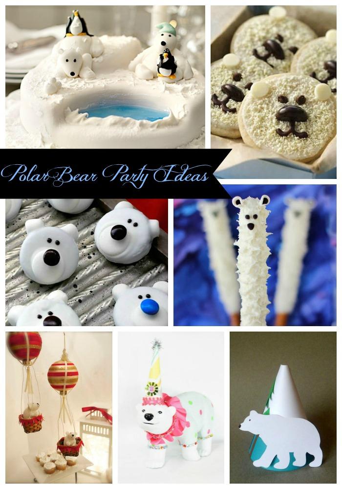 The Best Polar Bear Party Ideas- B. Lovely Events