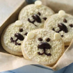 These polar bear cookies are the cutest!