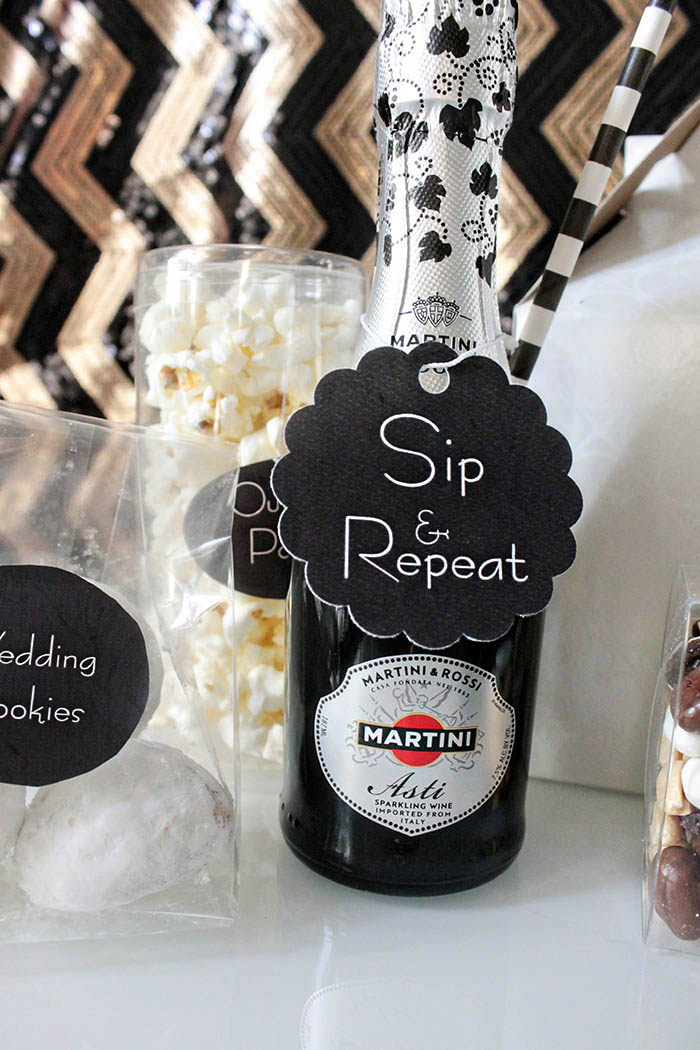 Wedding Welcome Bag Champagne, Sip & Repeat! -B. Lovely Events
