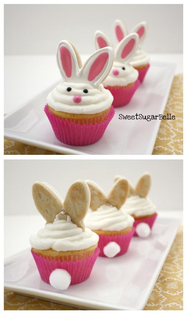 Bunny Tail Cupcakes!