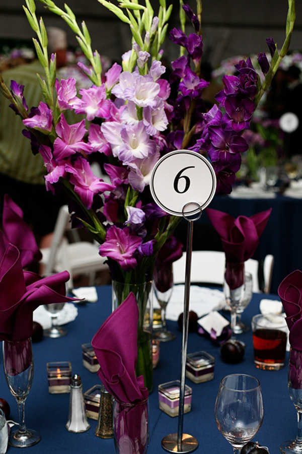Garden Purple Centerpieces