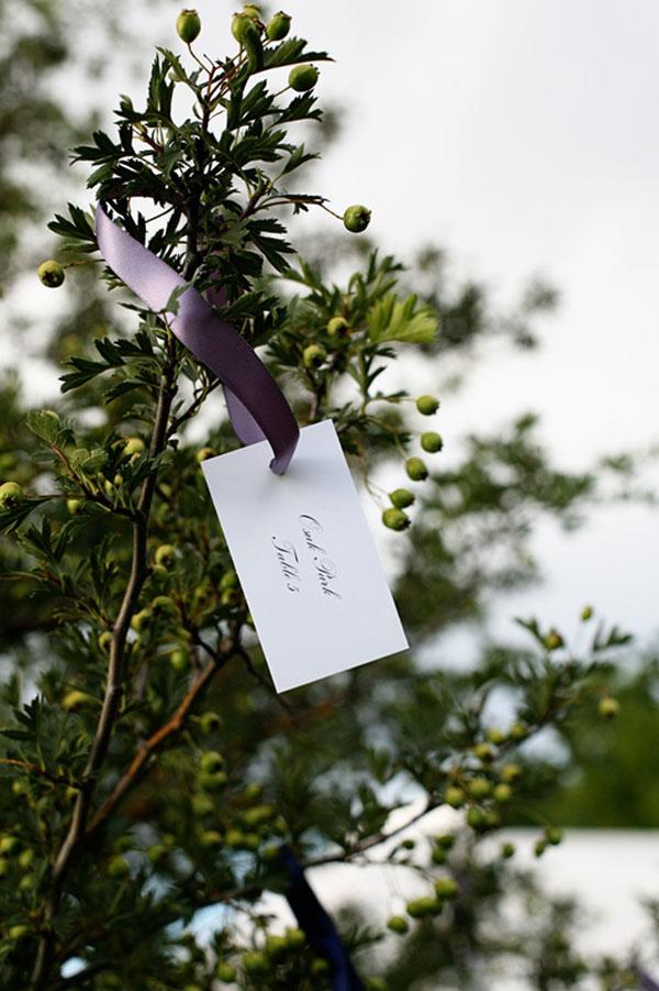 Garden escort cards