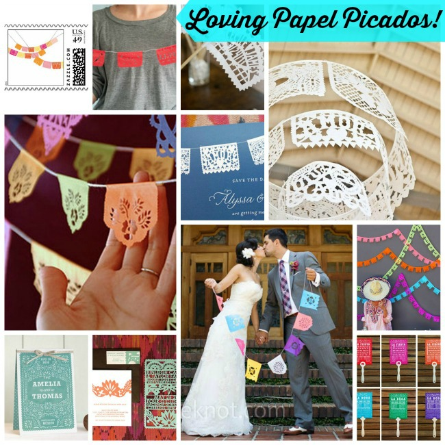Loving Papel Picados!- B. Lovely Events