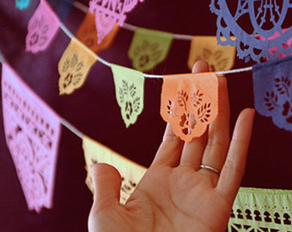 Mini Papel Picado Decorations