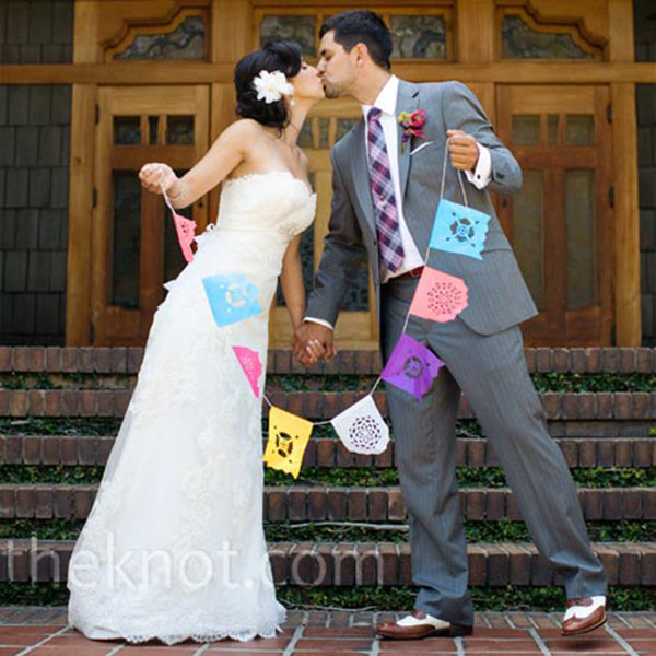 Papel Picado Wedding photo ideas
