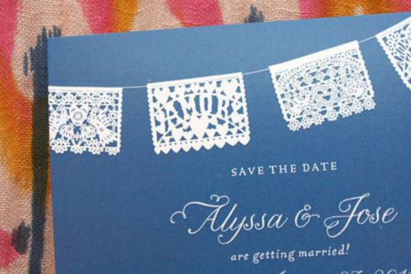 Good Can 39 T Get Enough Of Papel Picados B Lovely Events Laser Cut Invitation  Papel Picado