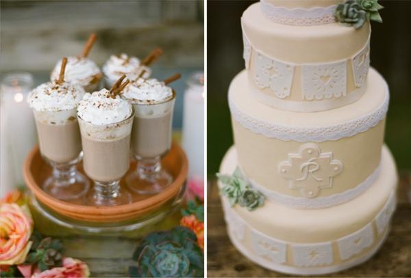 Papel picado wedding cake!