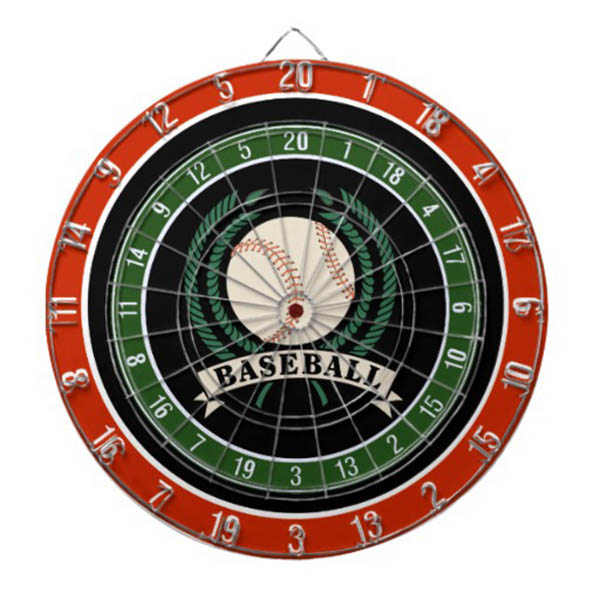 Baseball Dart Board Gift Idea For Father's Day