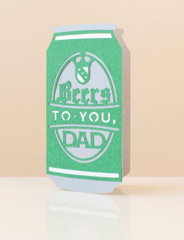 Beer card For Father's Day