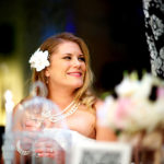 Black and White Themed Wedding and Darling Bride