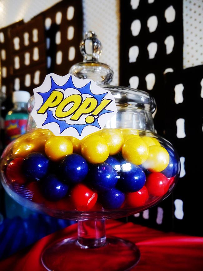 Boy Superhero Party Ideas