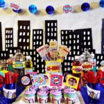 Bright And Awesome Boys Superhero Party