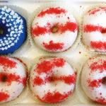 Cute American Flag Donuts