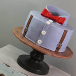 Cute Shirt Cake For Father's Day