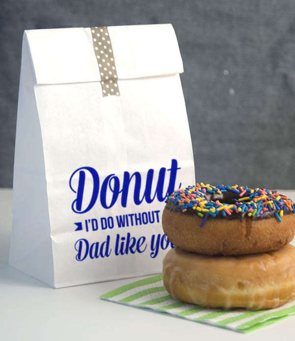 Cute father's Day Donut Bag!