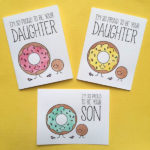 Donut Cards For Father's Day!